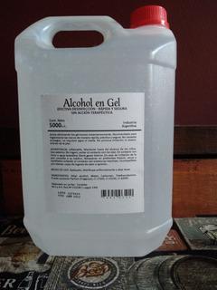Alcohol En Gel Bidón Por 5 Litros