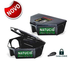 01 Un Natucid Porta Iscas Profissional Com Chave.