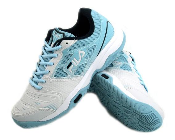 Zapatillas Fila Top Spin 2.0 Tenis Mujer 717616 Eezap