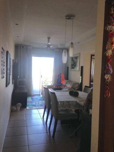 Apartamento Com 2 Dormitórios À Venda, 70 M² Por R$ 250.000 - Condomínio Primavera - Vila Dainese - Americana/sp - Ap0511