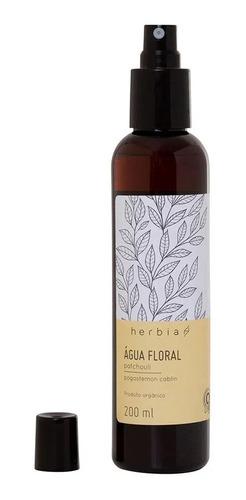 Água Floral (hidrolato) Orgânica De Patchouli Herbia 200 Ml