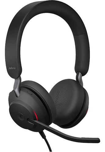 Headset Jabra Auriculares Ev2 40a Duo Uc Ng