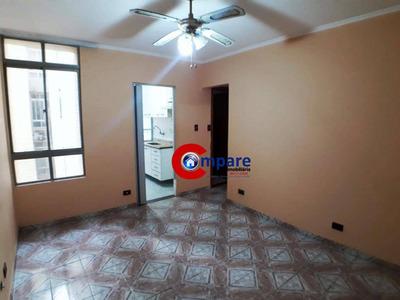 Apartamento Com 2 Dormitórios Para Alugar, 52 M² Por R$ 650/mês + Condominio - Vila Rio De Janeiro - Guarulhos/sp - Ap4626