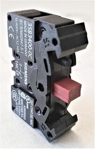 Bloque De Contactos Siemens 3sb34000c
