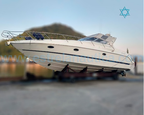 Lancha Cranchi Smeraldo 37 Barco Iate N Ferreti Azimut