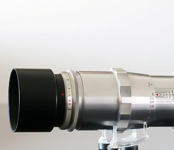 Lente Carl Zeiss Triotar 135mm T Vermelho+adapt.sony E-mount