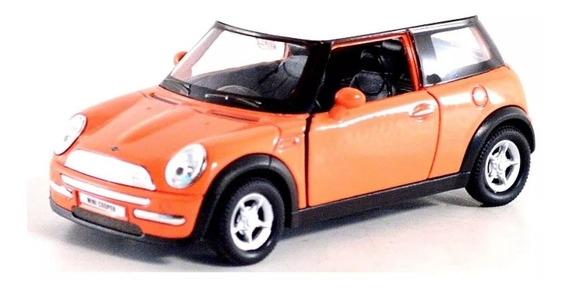 Auto Coleccion Mini Cooper S Escala 1:36 Welly Fricción