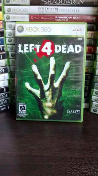 Left For Dead Xbox 360 Usado Mídia Física, Frete R$ 12.