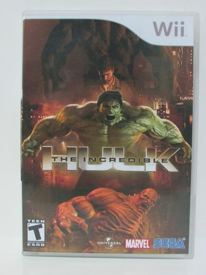 The Incredible Hulk - Game Nintendo Wii Original Manual