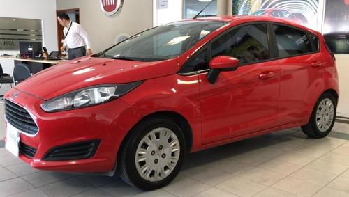 Ford Fiesta Kinetic 5 P S Gnc - 2015 - Rojo