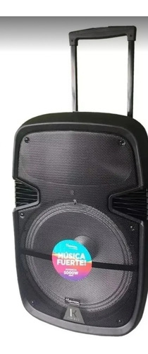 Parlante Bluetooth, Luces Led, 5000w 15 Pulgadas,karaoke