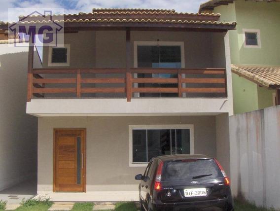 Casa Com 3 Dormitórios À Venda, 152 M² Por R$ 490.000,00 - Granja Dos Cavaleiros - Macaé/rj - Ca0073