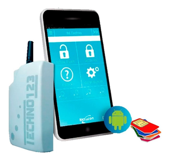 Avisador Gsm Sms Backup Techno 3g App Dsc Alonso Paradox