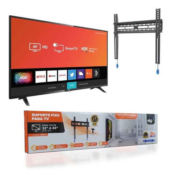 Smart Tv Led 32 Hd Wi-fi Conversor + Suporte Frete Grátis