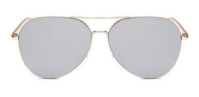Óculos De Sol Lente Plana Espelhada De Alta Qualidade Uv400