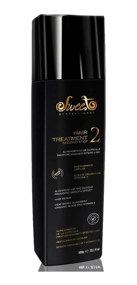 Alisamento Sweet Lovely Treatment 2° Passo 980ml Original