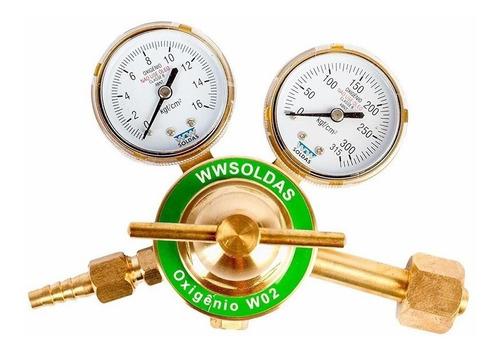Regulador De Pressão Para Cilindro Oxigenio