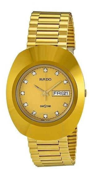 Reloj Rado R12393633.3 Dorado Caballero