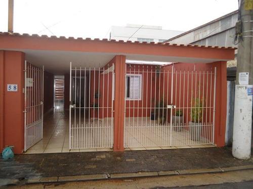 Casa Térrea Para Venda Em São Paulo, Ferreira, 2 Dormitórios, 1 Banheiro, 2 Vagas - Ca0172_1-1342128