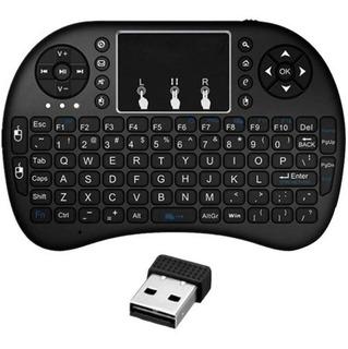 Control Teclado Mouse Mini Usb Smart Tv Inalambrico