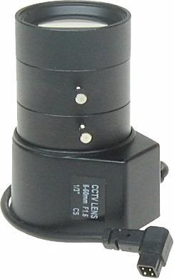 Lente Auto Iris Dc De 6.0 A 60.0mm