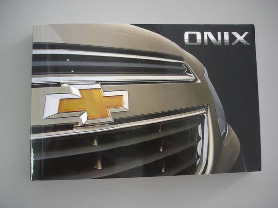 Kit Manuais Do Proprietário Chevrolet Onix 52126888