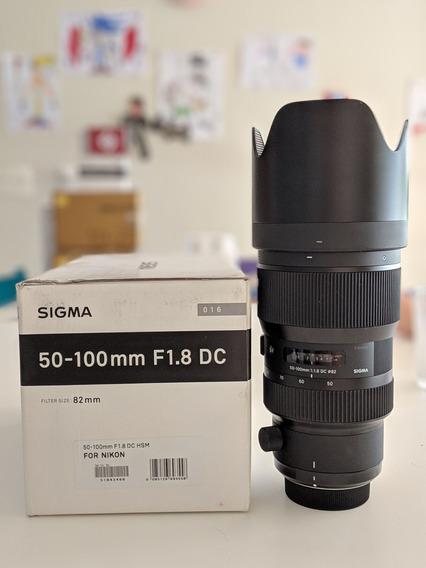 Sigma 50-100mm F/1.8 Dc Hsm Série Art (nikon)