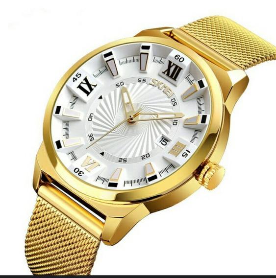 Fashion Quartz Gold Waterproof