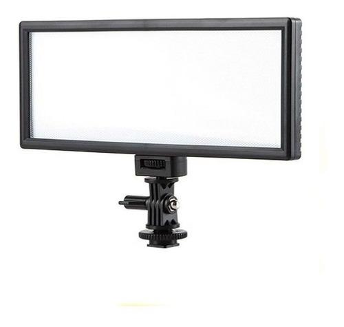 Imagem 1 de 10 de Led Ultrawide Iluminador Câmera Foto Filmagem Video Dslr