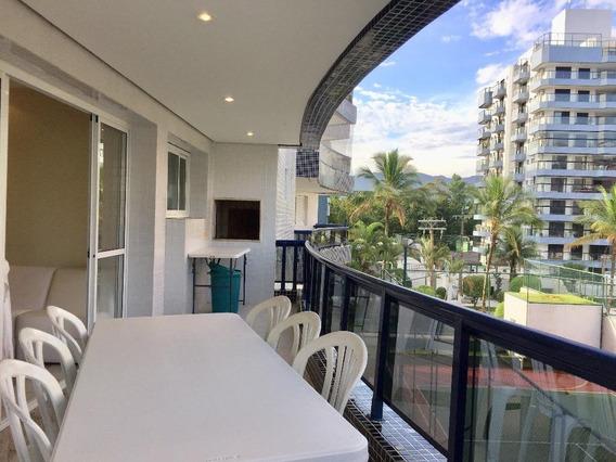 Apartamento Em Riviera De São Lourenço, Bertioga/sp De 123m² 3 Quartos À Venda Por R$ 950.000,00 - Ap205152