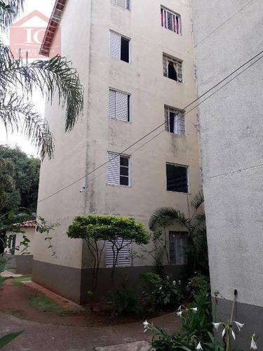 Apartamento Com 2 Dormitórios À Venda, 57 M² Por R$ 150.000 - Roselandia - Cotia/sp - Ap0377