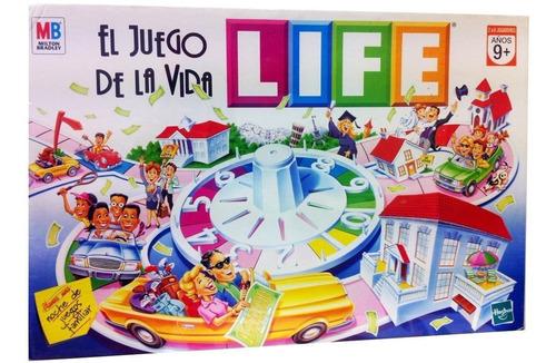 Imagen 1 de 10 de Life Juego De La Vida Clasico Hasbro Original 30136 Full Edu