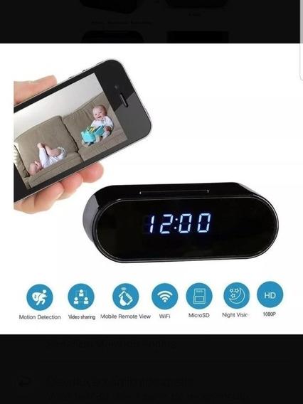 Relógio Digital Câmera Espiã - Pronta-entrega Frete Grátis
