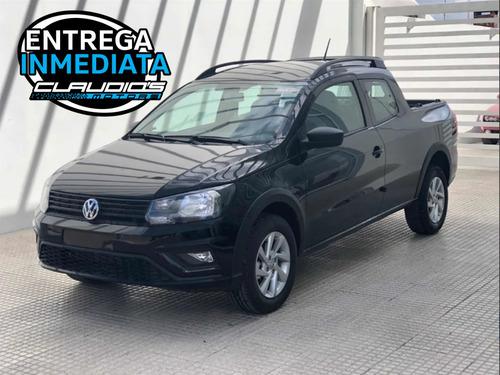 Volkswagen Saveiro Doble Cabina Negra. Entrega Inmediata!