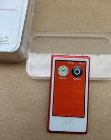 Ipod Nano Red 7 Geração 16gb Vermelho Caixa Usado - Xf4lp