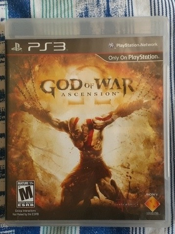 Jogo De Ps3 God Of War Ascension Midia Física.