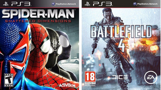 Battlefield 4 + Spider-man: Shattered Dimensions Ps3