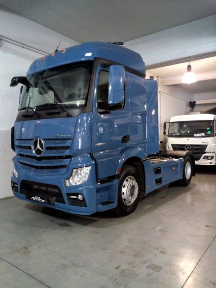 Mercedes Benz Actros 2042 Ls 37 4x2 Azul Violeta 0km