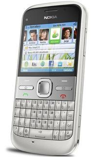 Celular E5-00 Nokia Quad-band 3g Wi-fi Bluetooth Teclado Qwe