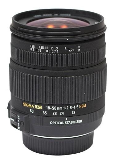 Lente Sigma Sony Dc 18-50mm F/2.8-4.5 Os