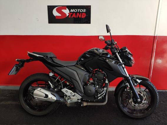 Yamaha Fazer 250 Fz25 Abs 2019 Preta Preto