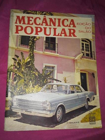 Revista Mecânica Popular / Edição Do Salão / O Galaxie