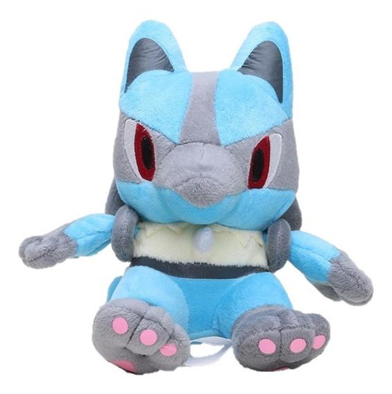 Peluche Pokemon Lucario 18 Cm Pokémon Go Nuevo