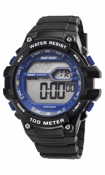 Relógio Mormaii Masculino Wave Mo3480a/8a Azul Oferta