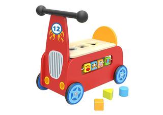Carretilla Para Bebés De Madera Para Juguetes De Toyster
