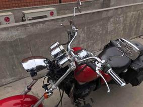 Moto Chopper Modelo Harley