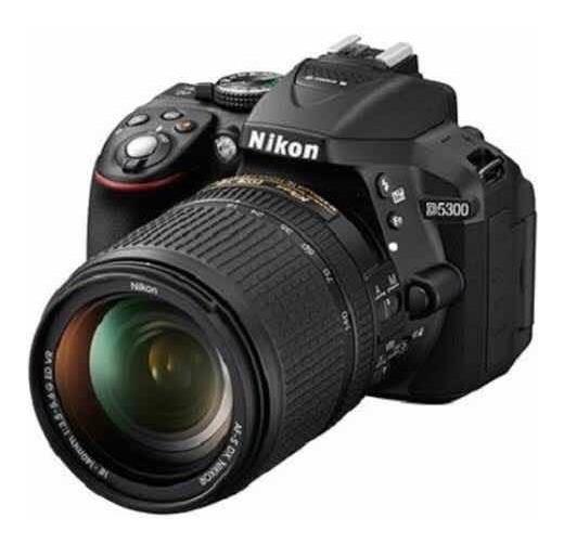 Nikon D5300 24.2mp Com Wifi Kit 18-55mm + Lentes