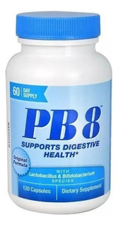 Pb8 Probiótico - Nutrition Now - Importado - 120 Cápsulas