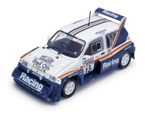 Mg Metro 6r4 Rac Rally 1986 J. Mc Rae I. Grindrod 1/43