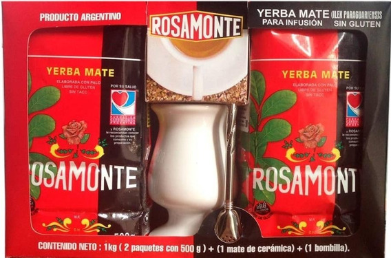 Yerba Mate Rosamonte Kit